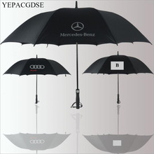 Golf umbrella straight handle car brand Mercedes-Benz Audi B