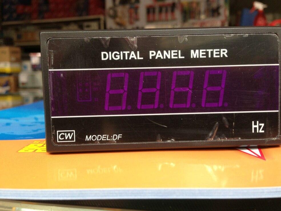 Fast arrival  DF3-F 3 bit half frequency meter range 200HZ working voltage AC110V/220V ,96*48*105mm  цены