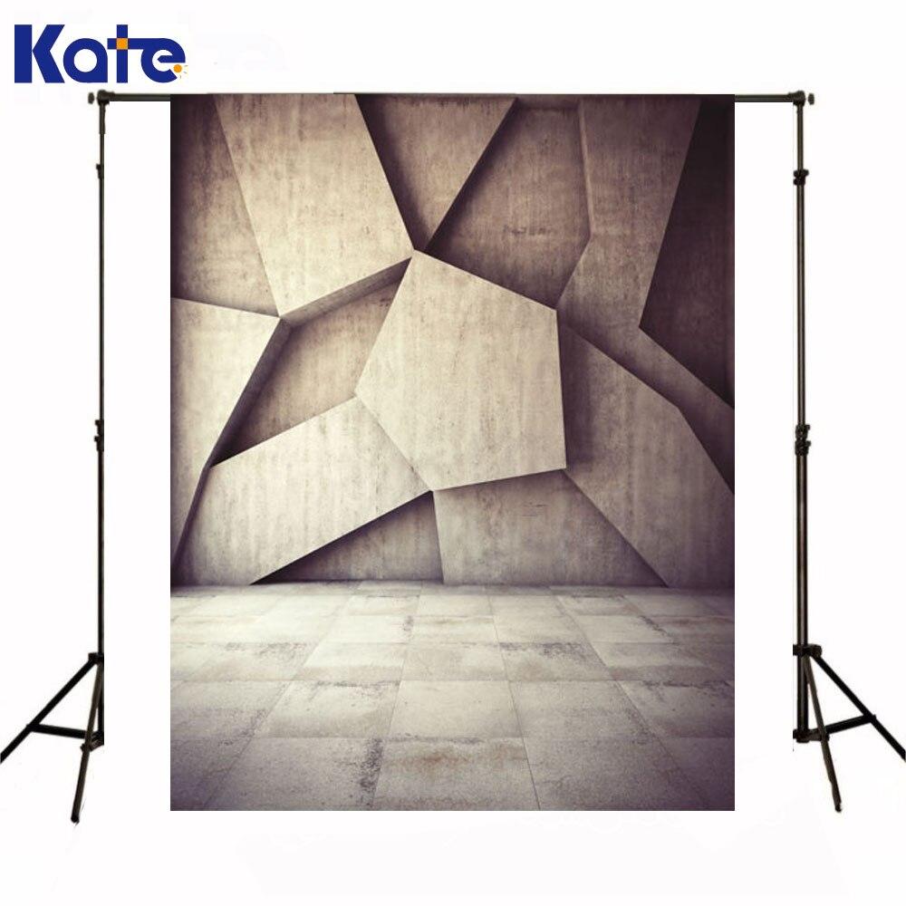 Kate nouveau-né bébé toile De fond brun motif De construction Fondo Fotografico De Estudio 3D arrière-plans pour Studio Photo