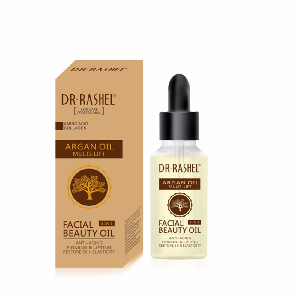 Oil-Polyphenols Vitamins Face-Care-Oil Argan Nourishing-Skin Anti-Wrinkle New Facil Hydrating