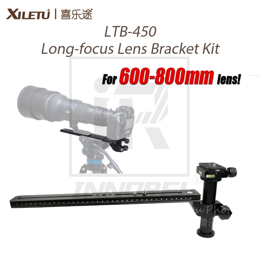 XILETU LTB 450 600 800mm Long focus Lens Bracket Kit for Bird Watching Lengthened Quick Release