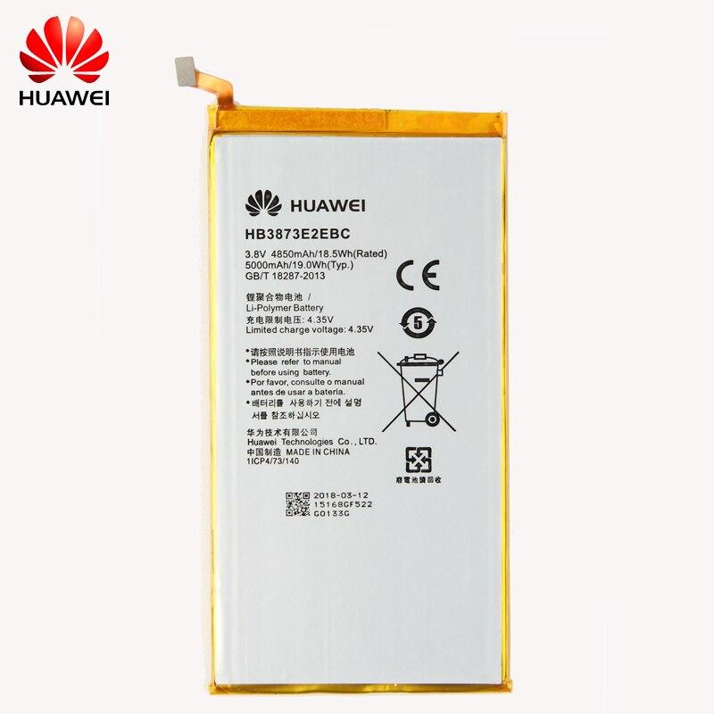 Original Huawei HB3873E2EBC batería recargable para Huawei mediapad X2 Honor X1 7D-503L 7D-501U 5000 Mah