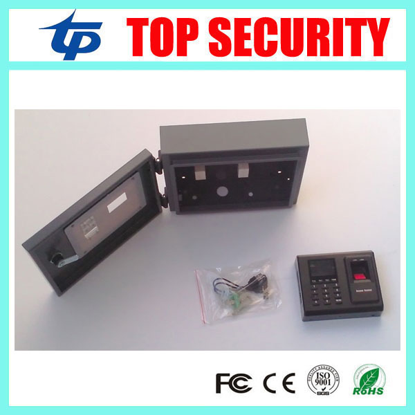 ZK F2 fingerprint access control protect box waterproof out door use protect metal box protect cover mf2300 f2
