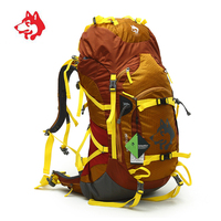 55L Unisex Outdoor Waterproof Tourist Hiking Camping Backpack Rucksack Bag For Sports Travel Climbing Mountain Backpacks Bags