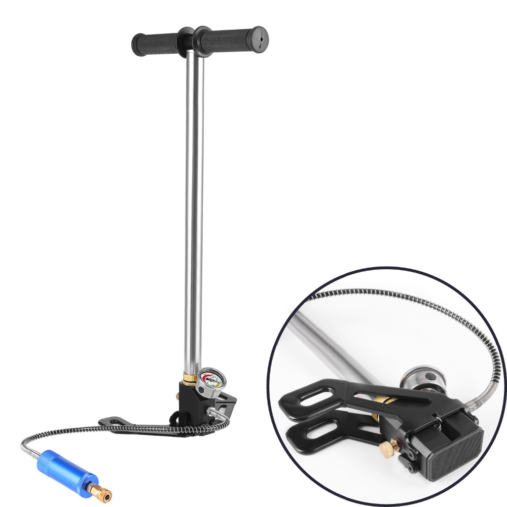 Mini pompe manuelle d'équipement de plongée de SMACO pour le mini réservoir d'oxygène de 0.5L pour l'air de rechange de SMACO SCORKL - 4