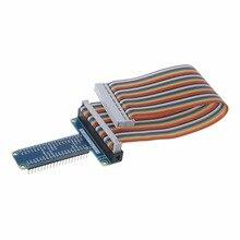 40 Pin Extension Board Adapter 40-Pin GPIO Kabel Linie Für Raspberry Pi 3 2 Modell B B + hohe Qualität C26