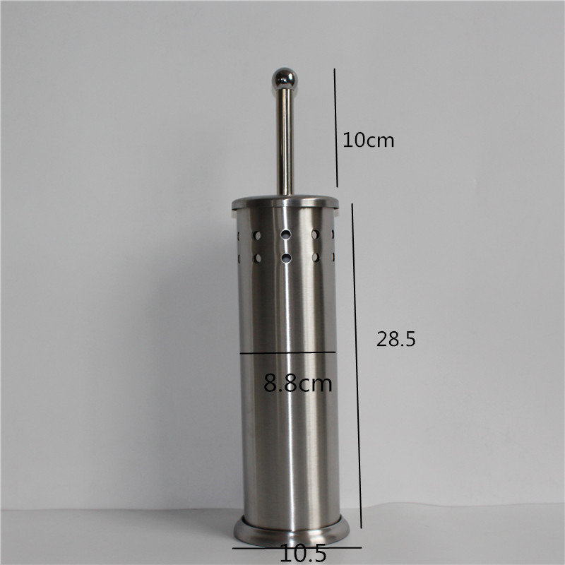 1SET New Arrival Brand Durable Holder Toilet Accessory Parts Stainless Steel Bathroom Cleaning Toilet Brush WY-013