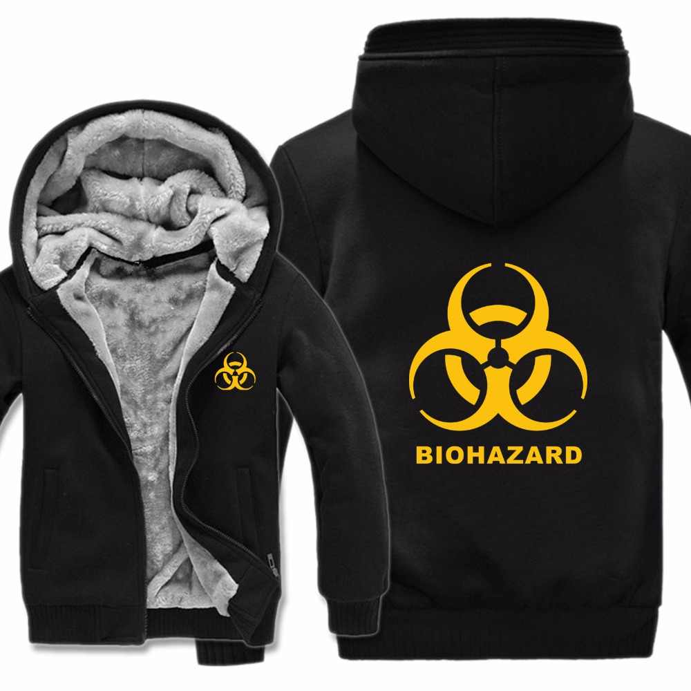 Detail Feedback Questions About Biohazard Hoodies Jacket Thicken