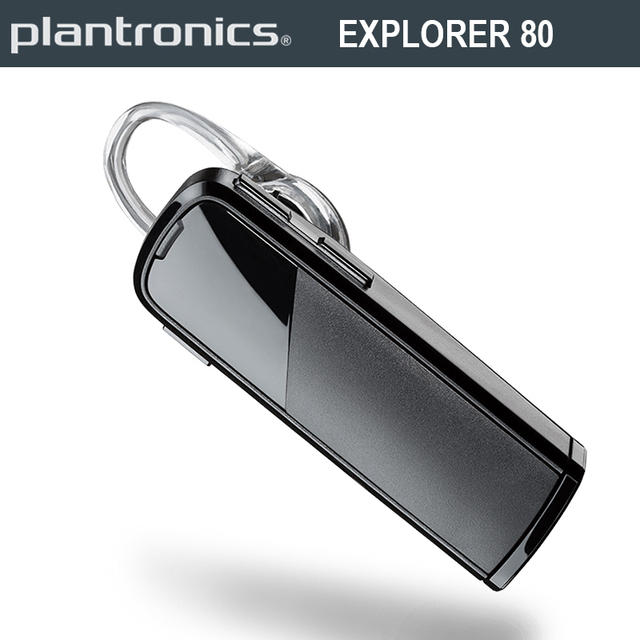 37425ef6fbc Plantronics EXPLORER 80 In-ear Bluetooth Wireless Earphone Portable  Comfortable Power-saving Headset With Mic For Cellphone Call