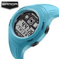 SANDA Children S Waterproof Watches Boy Girl Sport Digital Watch Students Electronic Watch Reloj Estudiantil Dropship