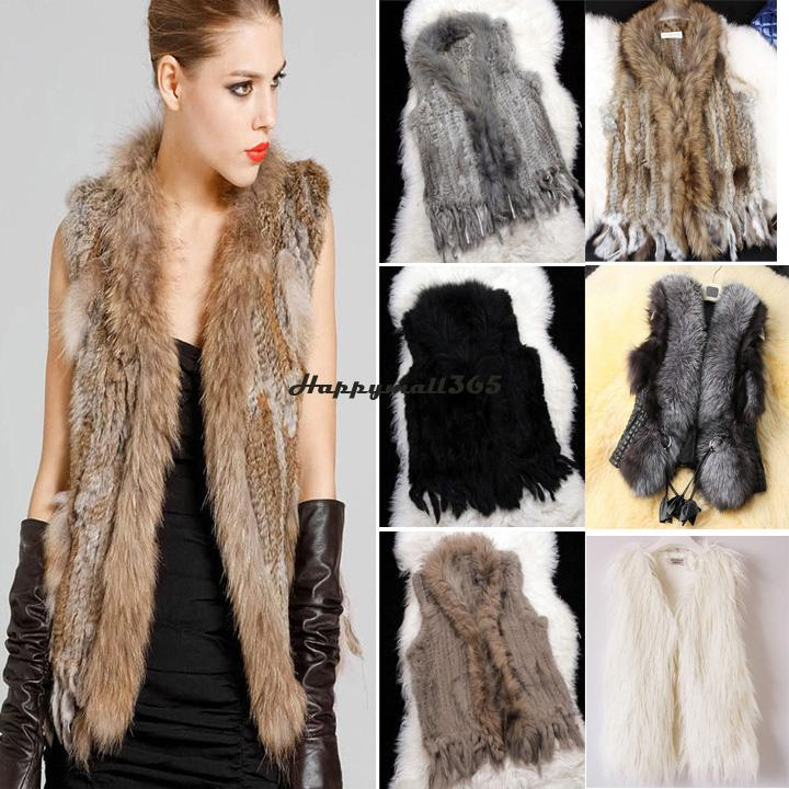 Aliexpress.com : Buy 3 types For Choose: Real Rabbit Fur Gilet