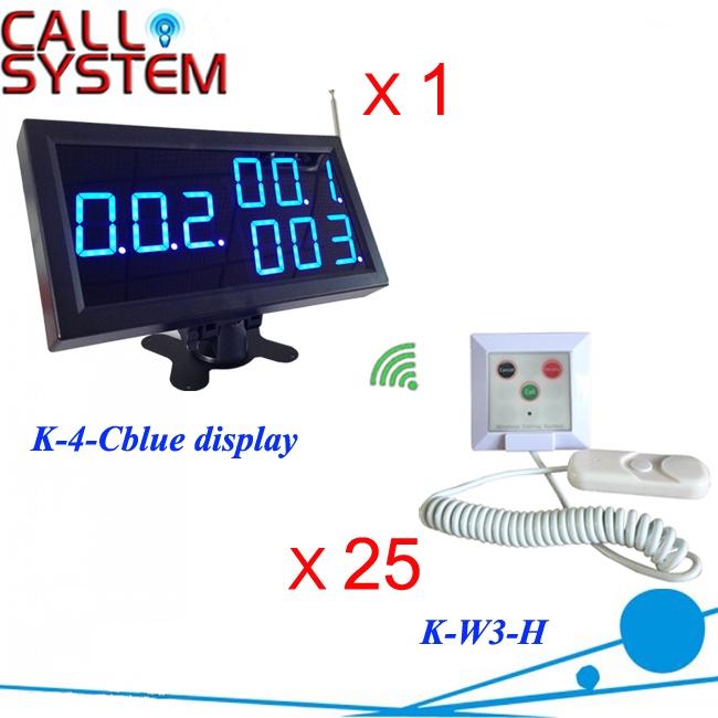 Nurse call button Wireless emergency call bell elderly hospital 1 receiver 25 pull cord with hand shake wireless table call bell system k 236 o1 g h for restaurant with 1 key call button and display receiver dhl free shipping