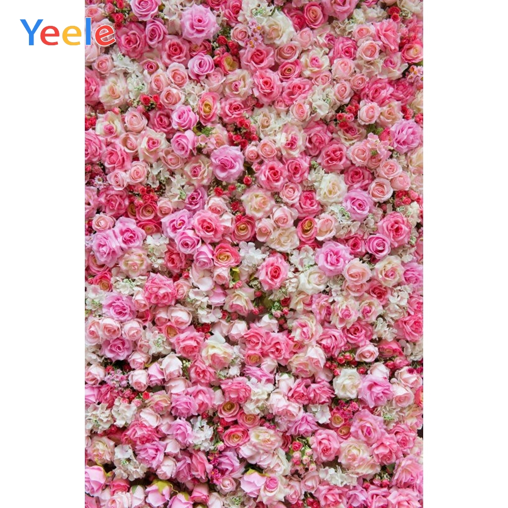 Yeele Rose Blossoming Flowers Self Portrait Scene Photography Backgrounds Personalized Photographic Backdrops For Photo Studio