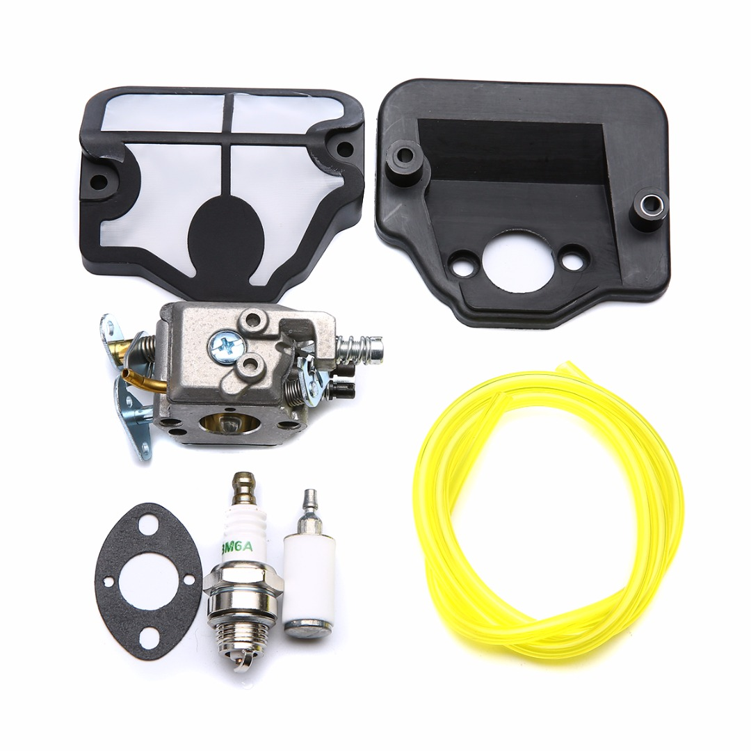 1 Kit Carburetor Carb Air Filter Kits For 36 41 136 137 141 142 Chainsaw C1Q-W29E Chainsaw Replacement Parts Mayitr New стоимость