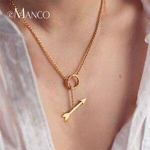 e-Manco Gold Arrow Circle Pend