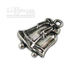 United 600pcs Tibetan Silver Christmas Bell Charm A11157 In Many Styles Home & Garden