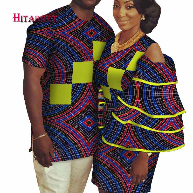 e341c71b1a3 african couple clothing Men s Shirt+dashiki dress couple dress for lovers african  couple dress Party