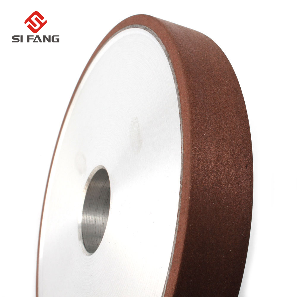 200mm Resin Bond Diamond Grinding Wheel 150 180 Grits Flat Grinding Wheels Power Tool For Carbide