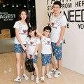 Vestido A Juego de Moda de la familia Ropa de la Familia de Padre e Hijo Madre e Hija de Ropa Ropa Ropa de La Familia Establece LY02