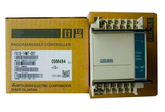 NEW PLC programmable logic controller 24V DC Transistor Output Base Unit FX1S-14MT-001 new original fx1s 20mr plc programmable logic controller module