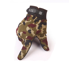 Men Outdoor Sports Mittens  Camouflage Airsoft Shooting Hunting Full Finger Gloves