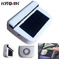 Solar Powered Ventilator Fan Car House Window Cooler Air Cooling Device For Solar Energy Ventilating Fan