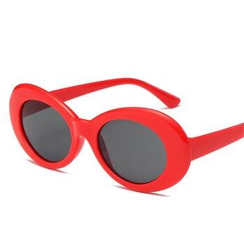 Brand Designer Luxury Women Oval Sunglasses Fashion Sunglasses Men Women  Glasses Women Men Translucent Lenses Sunglasses UV400