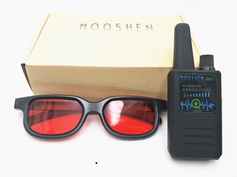 NEW M003 Multi function Anti spy Detector Camera GSM Audio Bug Finder GPS Signal Lens RF Tracker Detect Wireless Detector