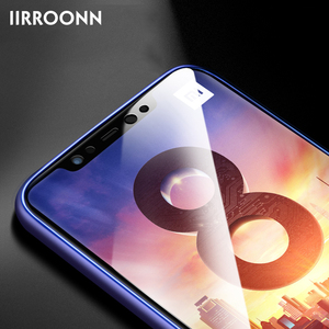 Image 4 - Matte Screen Protector For Xiaomi Mi 8 SE lite Tempered Glass For xiaomi 8 lite SE Frosted 6D Anti blue Light Tempered Glass