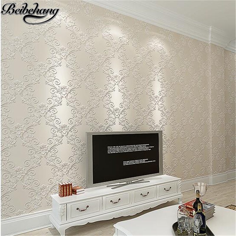 beibehang European non-woven wallpaper relief 3d warm and simple bedroom living room TV backdrop luxury wedding room wall paper book knowledge power channel creative 3d large mural wallpaper 3d bedroom living room tv backdrop painting wallpaper