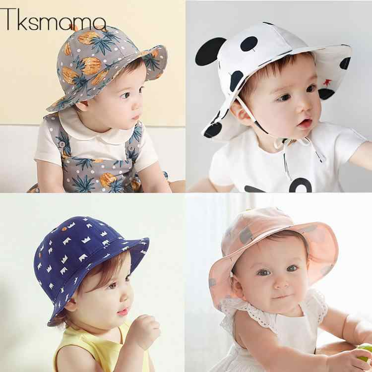 2019 Brand Designer Baby Infant Hat For Summer Beach Hats Newborn Kids Cap  Photo Props Hats b1044cab1f3