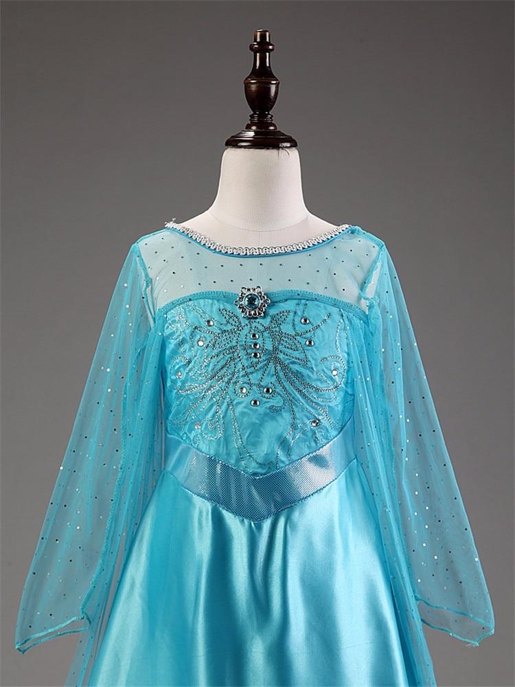 HTB1AufOXiAnBKNjSZFvq6yTKXXaW Girls Elsa Dress Costume Princess Anna Dresses Cosplay Party Summer Baby Kids Children Fancy Baby Girl Clothes elza vestidos