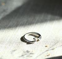 Alte silvers silber schmuck handgemachte paar ringe ringelrute ring liebe sie eine million jahre zwangsjacke kostenloser versand