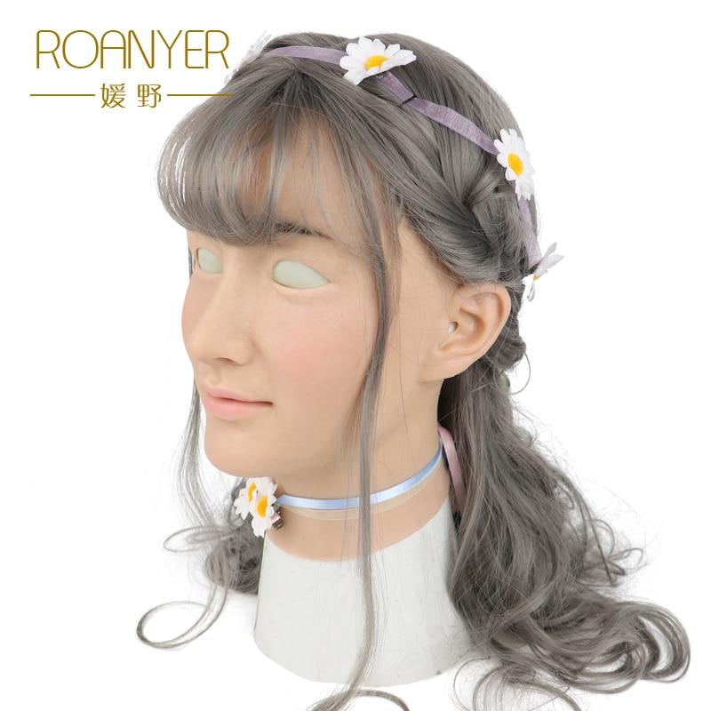 Roanyer Ria transgenres silicone esseulé peau artificielle cosplay femmes crossdresser latex robe pour homme sexy fournitures de fête