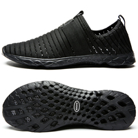 ALEADER Breathable Shoes For Womens New 2016 Summer Slip On Beach Shoes Flat Ladies Walking Shoes