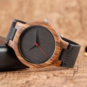 Image 2 - แฟชั่นของขวัญไม้นาฬิกาผู้ชาย Analog Simple Bmaboo มือ   นาฬิกาข้อมือนาฬิกาควอตซ์ชายกีฬานาฬิกา reloj de madera