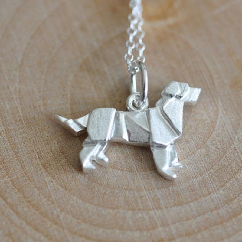 Bangle or Bracelet Labrador Retriever Charm or Pendant \u2013 Sterling Silver Labrador Retriever Charm for Necklace