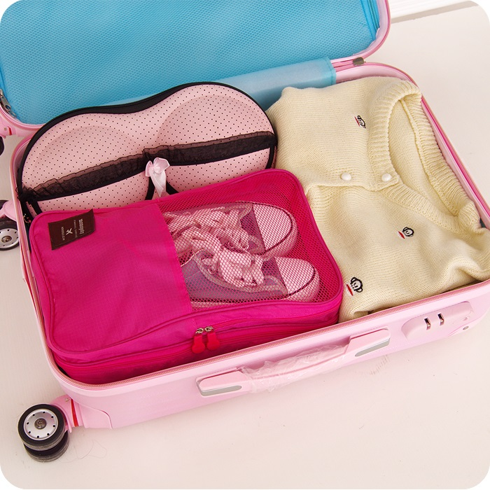 Shoes Bag travel Portable Pouch Travel Storage Bags Shoebox Dustproof Shoes Organizer Sorting Pouch Home Zip Lock Storage Bag in Storage Bags from Home Garden