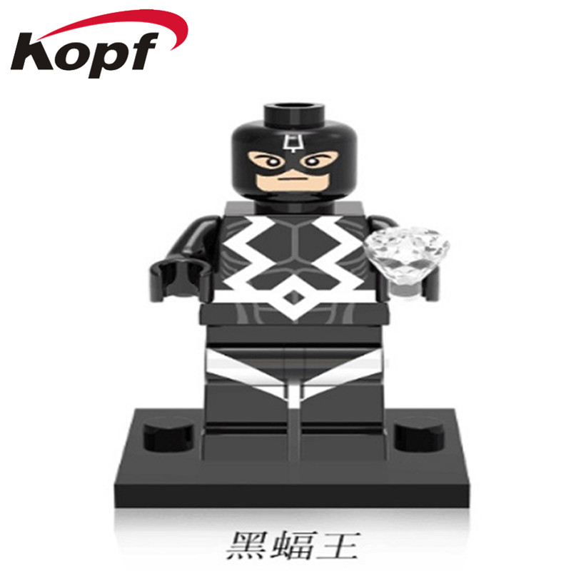 XH 365 Super Heroes Single Sale New Movie Black Bolt Ancient One Doctor Strange Building Blocks Bricks Toys Gift For Children