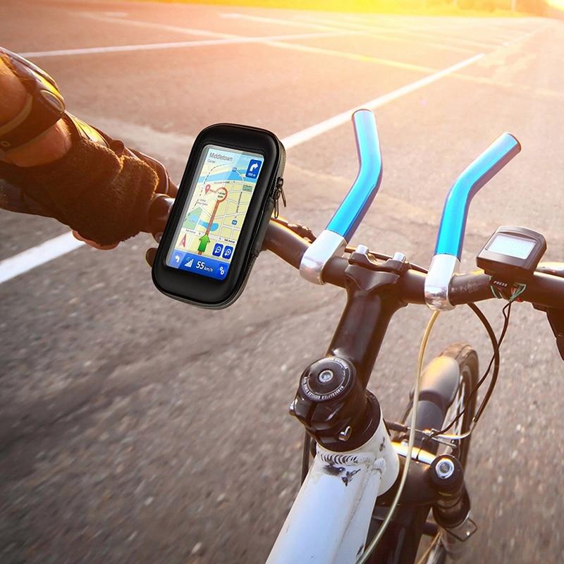 Vattentät cykelmonteringshållare med pekskärm Vattentät väska - Reservdelar och tillbehör för mobiltelefoner - Foto 6