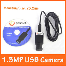 Cheapest prices 1.3MP USB Digital Electronic Camera Eyepiece for Biological Microscope with Measurement Scale for XP System Computer or Laptop