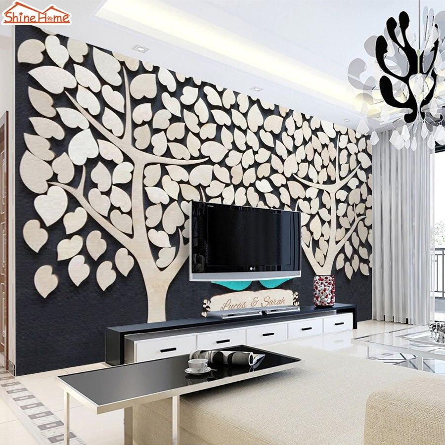Simple Wallpaper Black And White Romantic - ShineHome-Black-White-Romantic-Tree-Bird-in-Love-Natural-Brick-3d-Room-Wallpaper-Roll-Murals-for  2018_136882.jpg