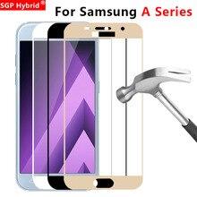 Защитный Стекло для samsung A5 A3 A7 A6 плюс A8 закалённое защитное стекло Экран Защитная пленка для Galaxy A 5, 6, 7, 8, 5a tremp