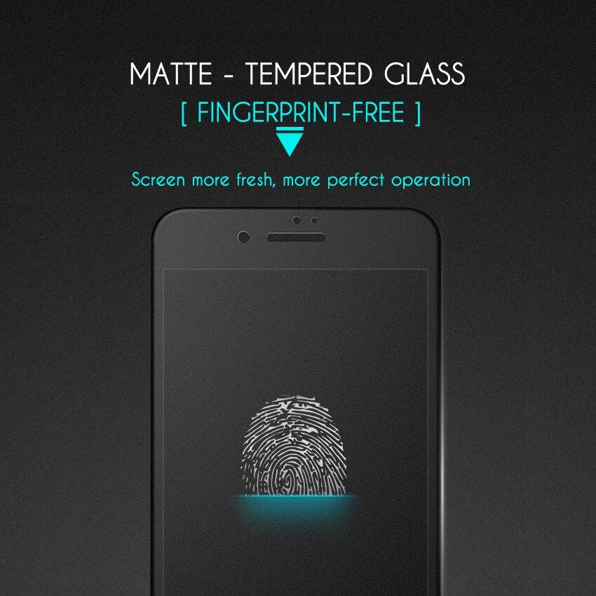 ESVNE 3D krökt matt härdat glas för iphone 6 glasfilm 9H hårdhet - Reservdelar och tillbehör för mobiltelefoner - Foto 2