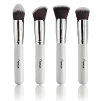 Professional Makeup Brushes Set 4 Pcs Sets Soft Cosmetic White Make Up Brushe Woman S Toiletry