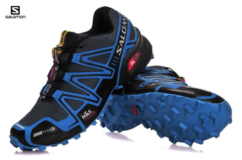 Hot Sale Salomon Shoes zapatos hombre men Speed Cross 3 CS III Sneakers Men Speedcross running Sport Shoes Fencing Shoes 40-46