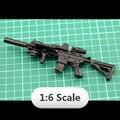 2016 Para 1:6 Escala de 1/6 12 polegada Rifle de Assalto de Figuras de Ação HK 416 O Envio Gratuito de 1/100 MG Gundam Bandai Modelo Pode Usar 000443