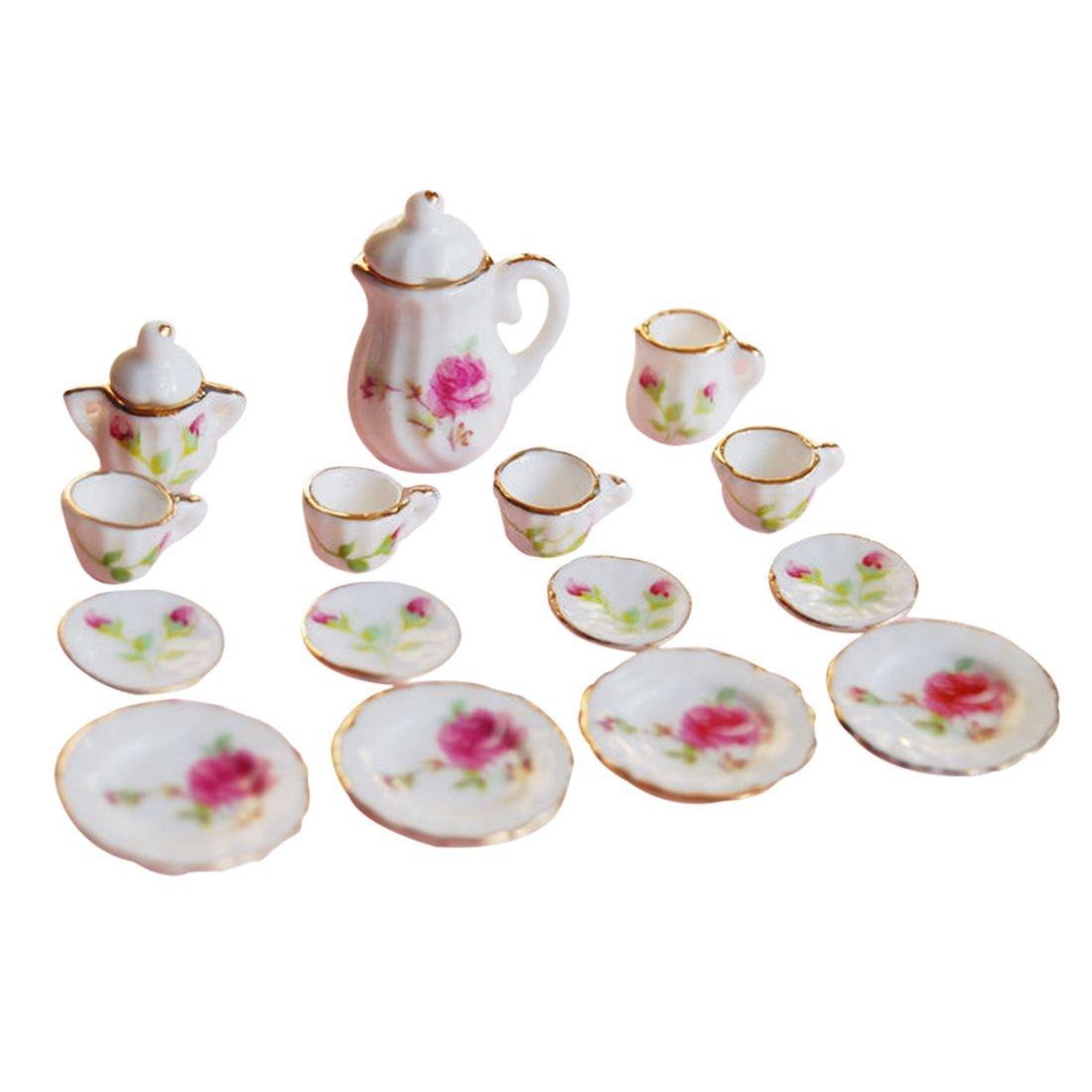 ABWE Best Sale 1/12 Scale Dollhouse Miniatures Porcelain