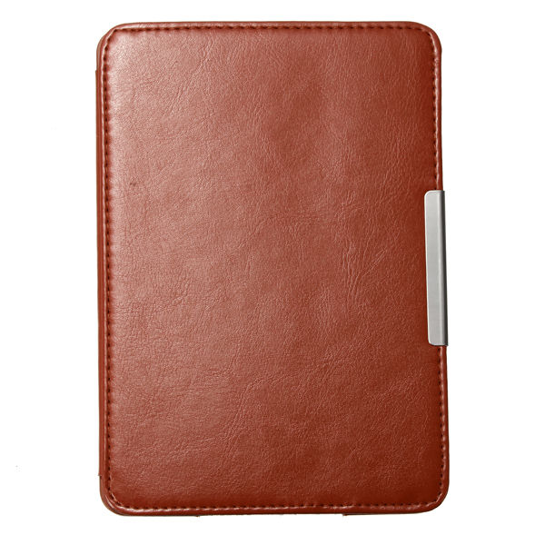 Slim Auto Sleep/Wake Magnetic PU Leather Case Cover for Kindle Paperwhite 1 2 3 brown pu leather ebook case for kindle paperwhite paper white 1 2 3 2015 ultra slim hard shell flip cover crazy horse lines wake sleep