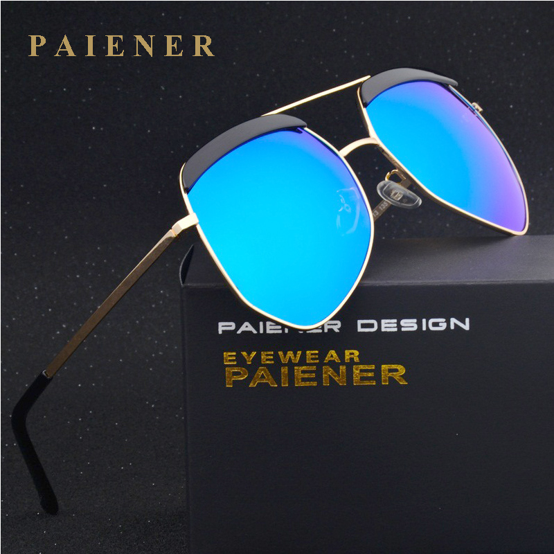 Vintage Large Sun glasses Polarized Cat Eye Ladies Brand Designer Women polarizer Sunglasses Outdoor Eyewear Accessories Female